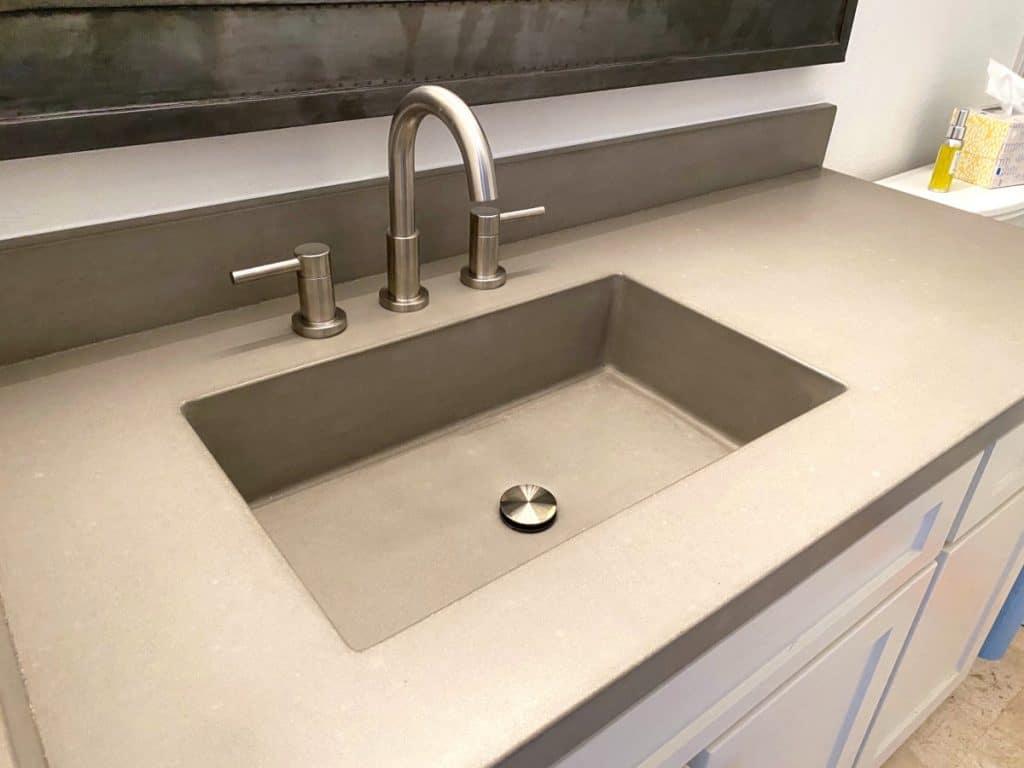 """20"""" x 12"""" Concrete Sink"""