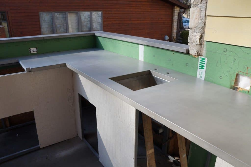 Even though it was a 3 hour drive each way, this client insisted that she wanted us to make her countertops!