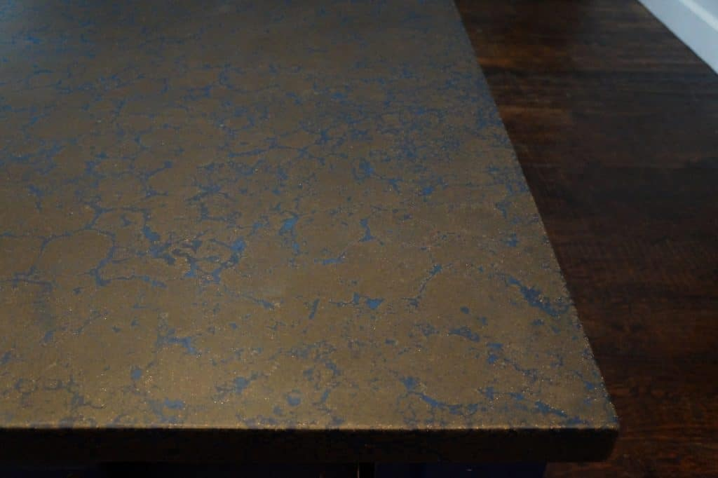 Here is a close up of the blue veining