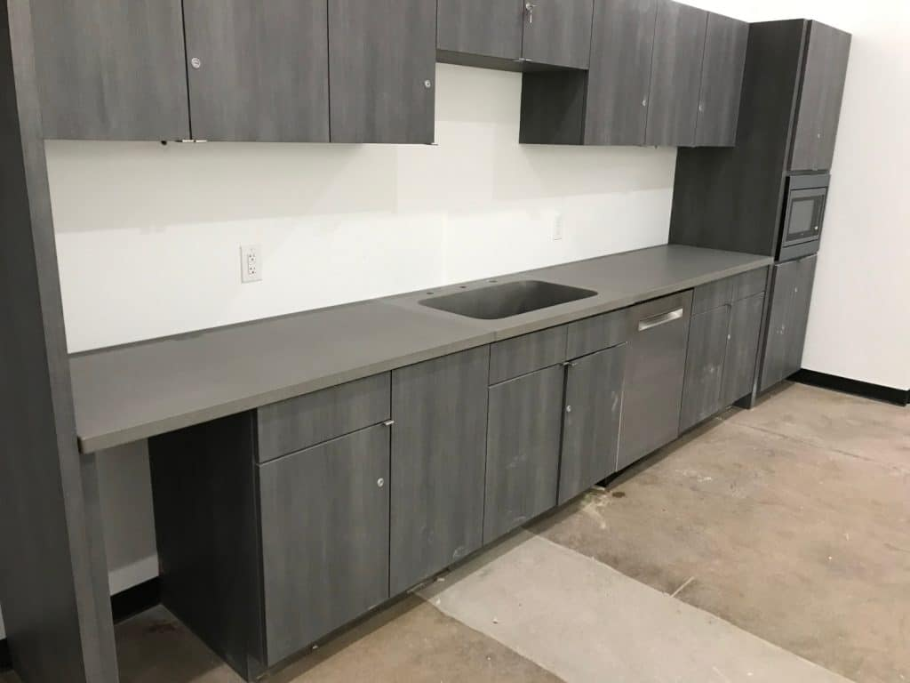 Large Employee Kitchen for a Warehouse