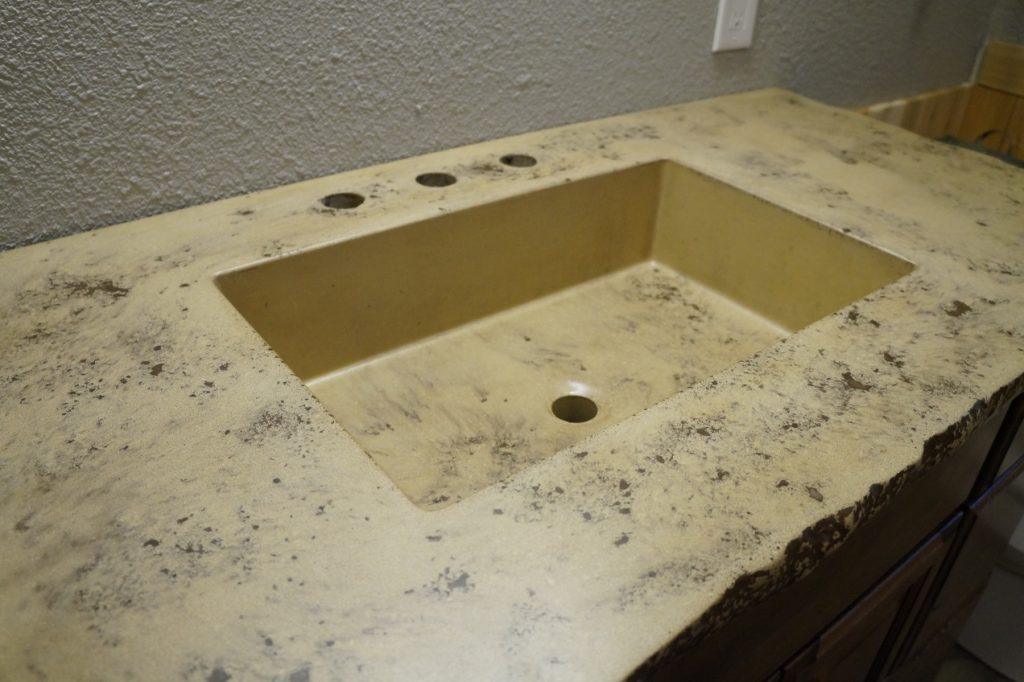 "This is our most popular bathroom sink. It's a 20"" x 12"" rectangular sink."