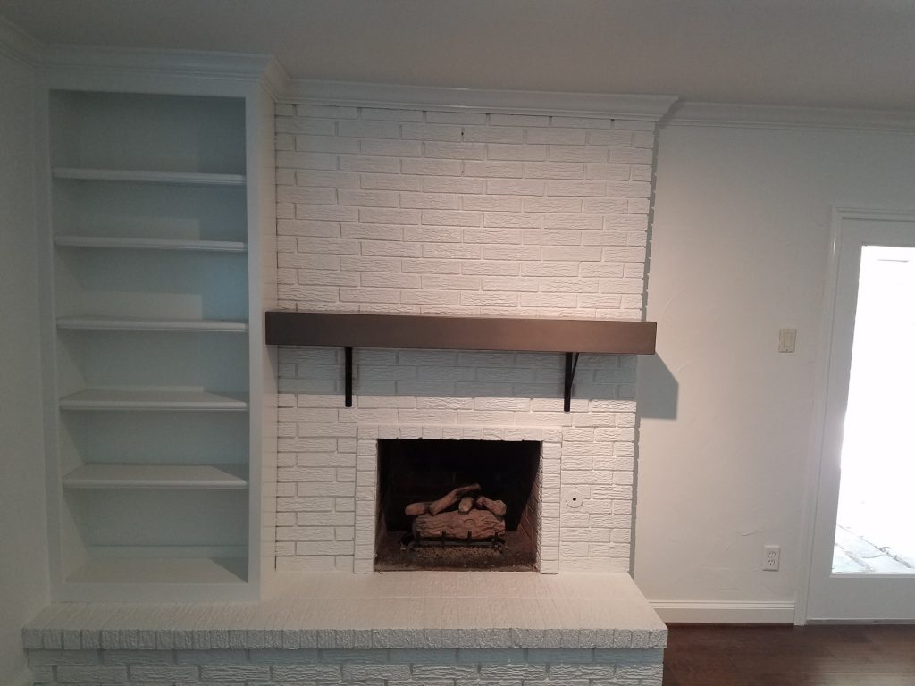 Concrete Mantle installed in Dallas, Texas