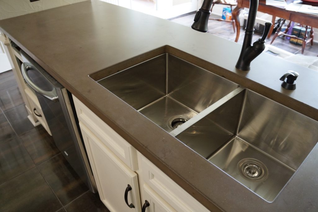 Our sink openings are formed not cut by a computer controlled saws like granite and quartz. It takes a skilled craftsman to form an opening this precise and we have them.