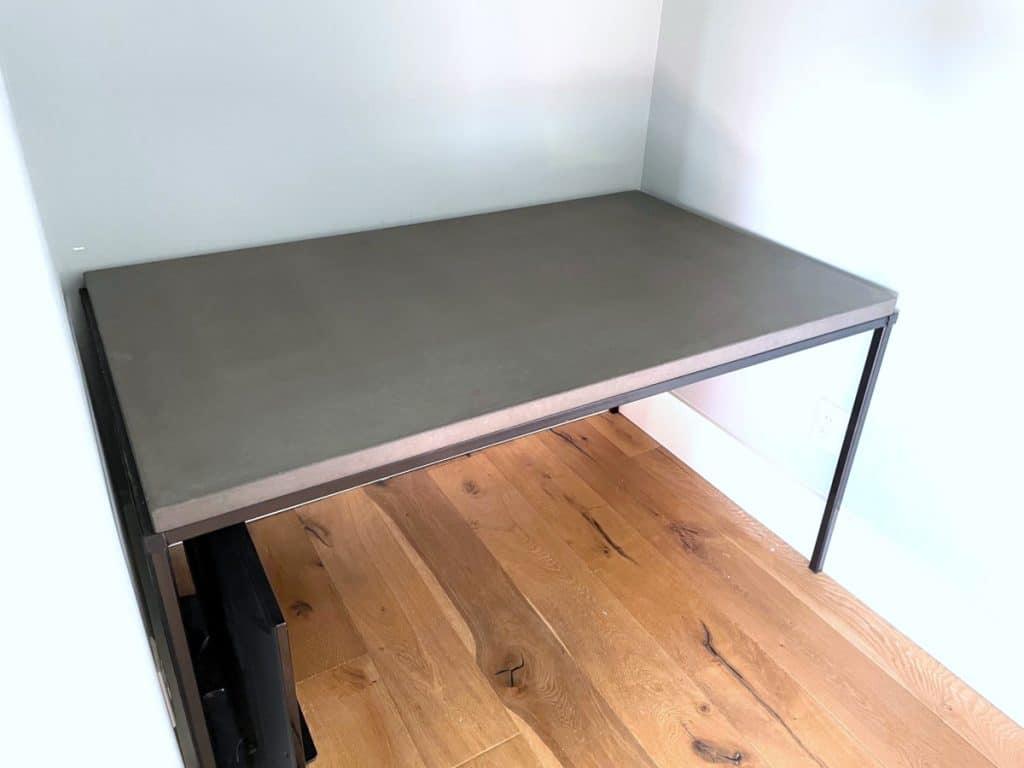Concrete Tops also make for great desktops!
